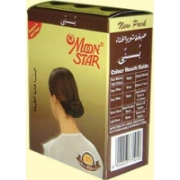 MOONSTAR HERBAL HAIR & NAIL HENNA, MENDHI,  BROWN