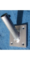 Aluminium Flag Pole Holder - Wall Mounted,Tig Welded,