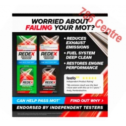 Redex Emissions Reducer Diesel, petrol System Clean Up, Can Help Pass MOT, 400ml