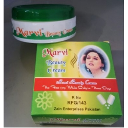 Marvi Beauty Cream Makes Skin Fairer & White 100% Original
