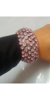 Pink Elastic Bracelet Very shiny and beautiful