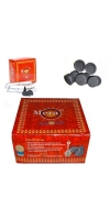 80 Disc Charcoal Genuine Coal bakhoor bukhoor Mera Meera Hookah burner sheesha