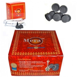 80 Disc Charcoal Genuine Coal bakhoor bukhoor Mera Meera Hookah burner sheesha 2 product ratings